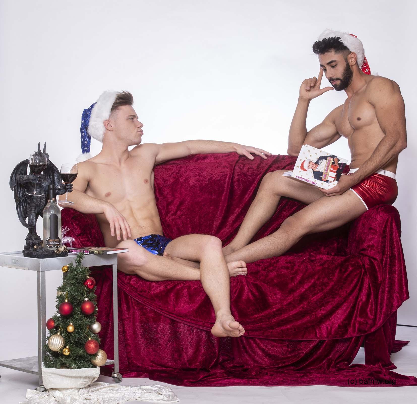 Schwule Nikolausis für den Weihnachtsmarkt Bonn