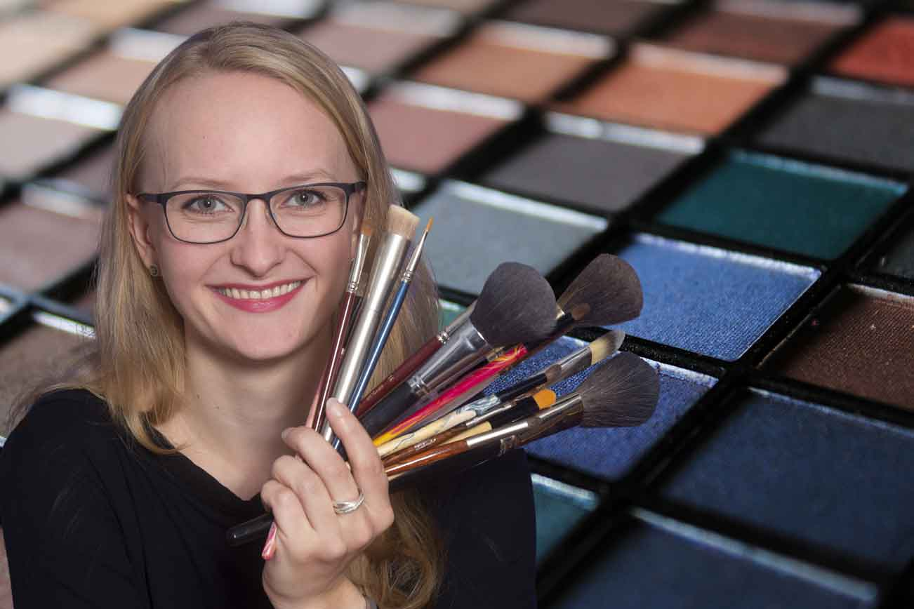 Vero Bente, Make-up-Artistin (Foto: Barbara Frommann)