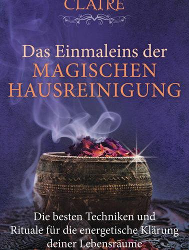 WEIHNACHTSMARKT BONN - Taschenbuchausgabe des Buches »Magischer Hausputz« Was tun