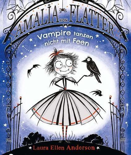 WEIHNACHTSMARKT BONN - Willkommen in Nokturnia - wo du dich vor Glitzer gruselst und Vampire deine Freunde sind!  Amalia ist ein ganz normales Vampirmädchen